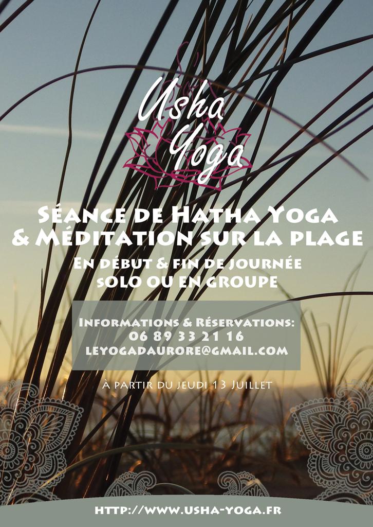 Cours de Hatha Yoga au Cap-Ferret